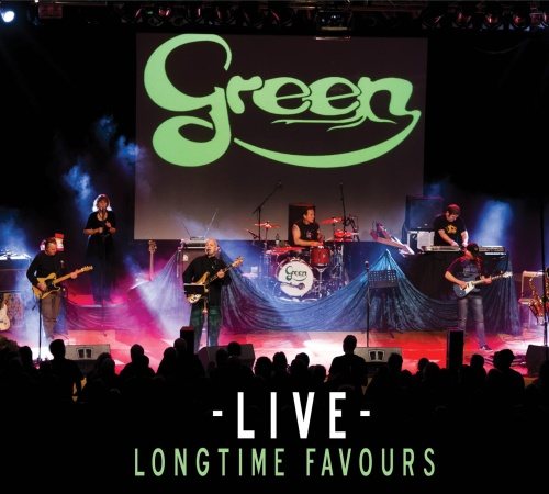 "SIR 2154 GREEN "" Live Longtime Favours"" CD"