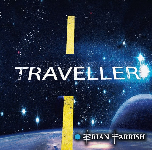 "SIR 2155 BRIAN PARRISH ""Traveller"" CD, Digipak"