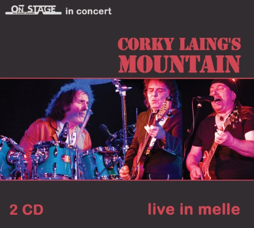 "SIR 2163 Corky Laing's MOUNTAIN ""Live in Melle"" 2CD"