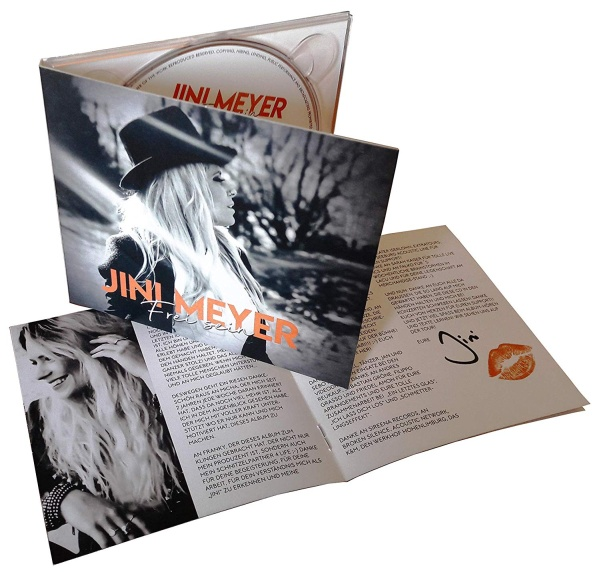 "SIR2202 JINI MEYER ""Frei Sein"" CD DigiPak"