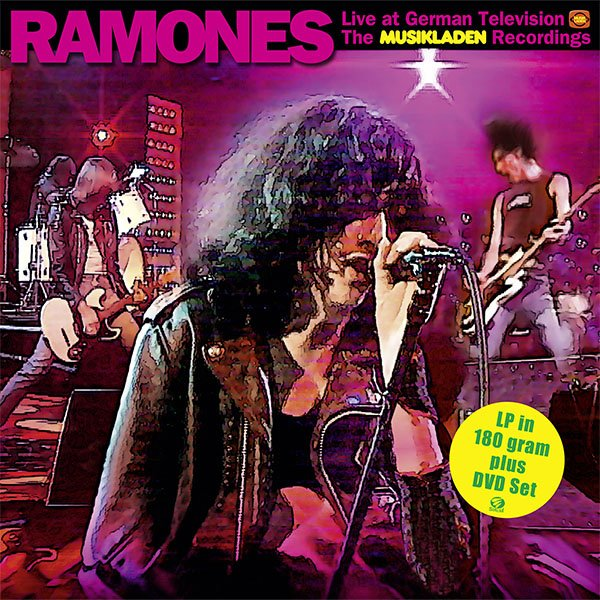 "SIR 4027 RAMONES ""The Musikladen Recordings"" LP/DVD"