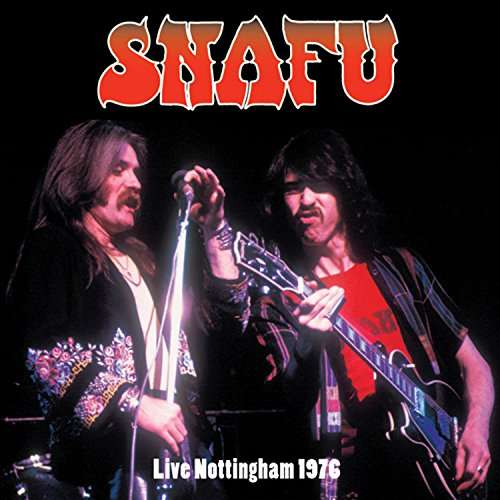 "SIR 4046 SNAFU ""Live Nottingham 1976"" Vinyl Album"