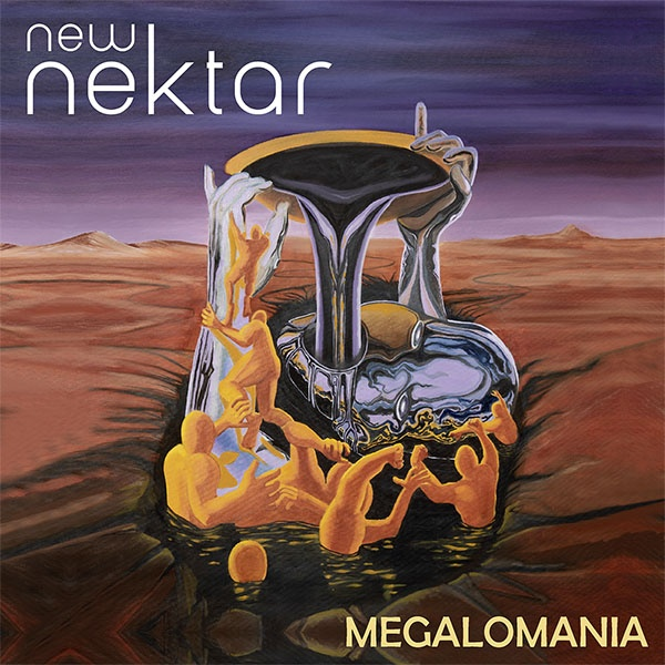 "SIR 4050 NEW NEKTAR ""Megalomania"" Vinyl"