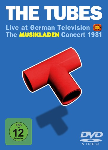 "SIR 5006 THE TUBES ""The Musikladen Concert 1981"" DVD"