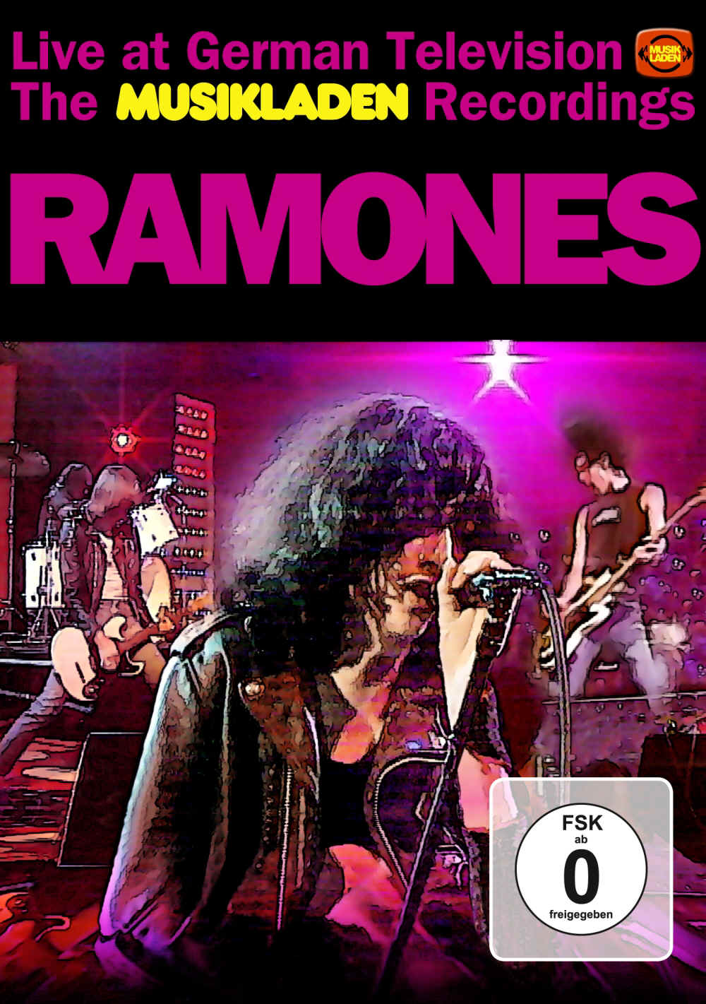 "Sireena 5001 RAMONES ""Live at German Televison - The MUSIKLADEN Recordings""  DVD & CD"
